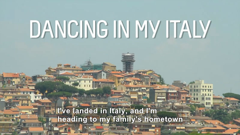 Still image from Bare Feet With Mickela Mallozzi: Dancing in My Italy