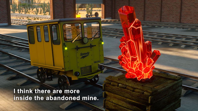 Still image from Shawn & Team: The Mine Adventure