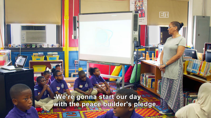 Still image from Give: Give an Opportunity for Kids to Help Kids