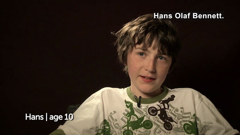 Still image from Millennials: Growing Up In the 21st Century--Hans's Story
