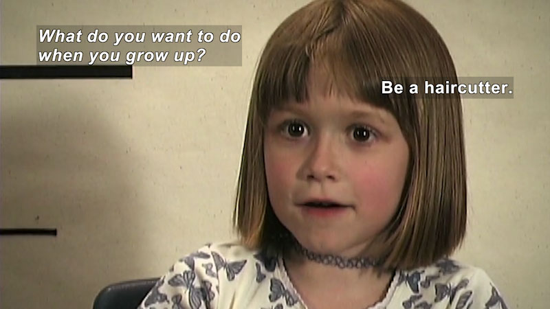 Still image from Millennials: Growing Up In the 21st Century--Haley's Story