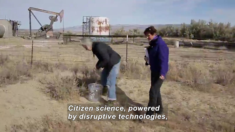 Still image from The Crowd and the Cloud: Episode Two (Citizen Plus Scientists)