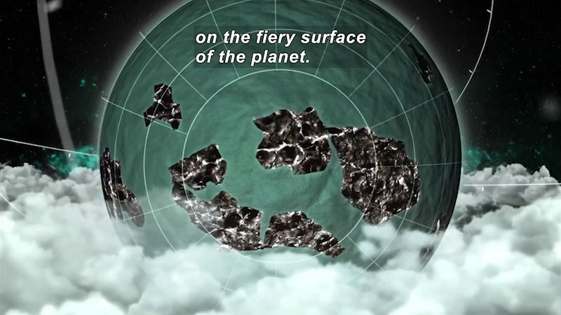 Still image from Voyage of the Continents: Oceania--The Tectonic Ring of Fire