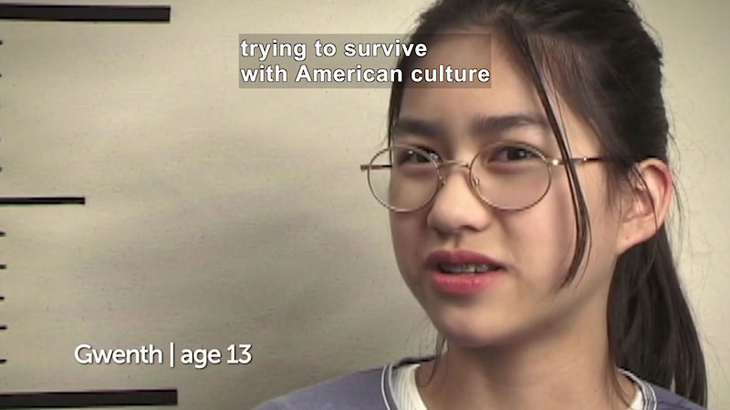 Still image from Millennials: Growing Up In the 21st Century: Gwenth's Story