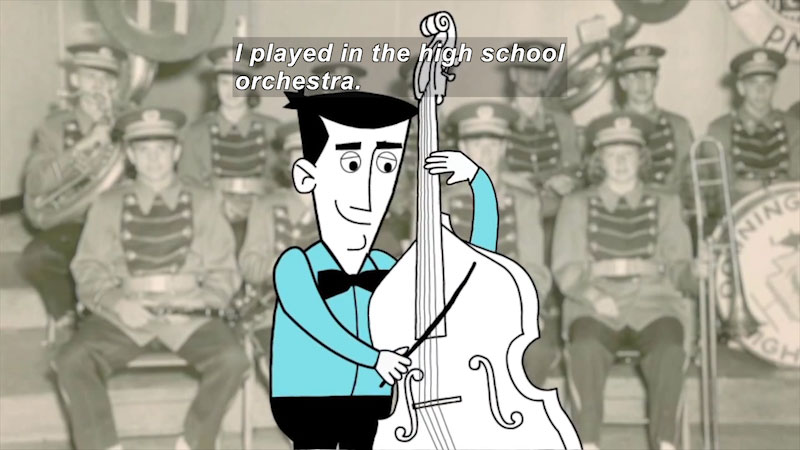 Still image from Career Connections: Musician