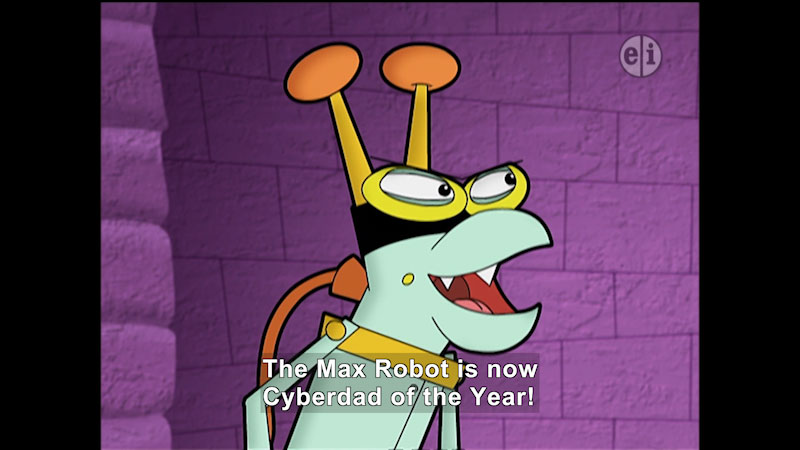 Still image from Cyberchase: Father's Day