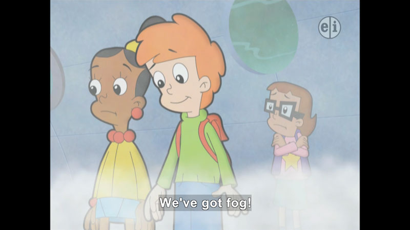 Still image from Cyberchase: Gone With the Fog