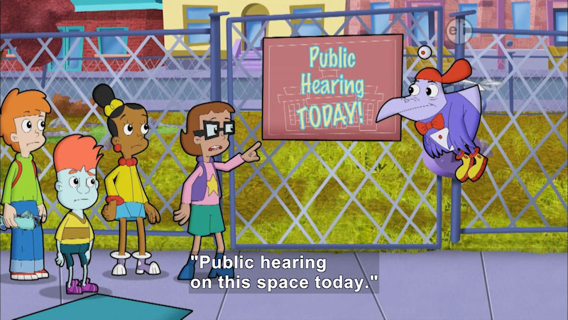 Still image from Cyberchase: Parks and Recreation
