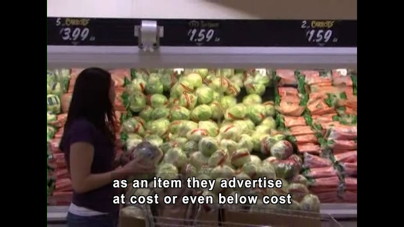 Still image from Grocery Shopping Challenge
