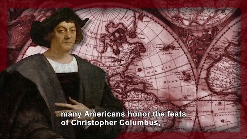 Still image from World Explorers: Christopher Columbus