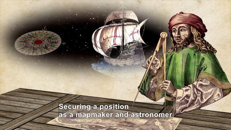 Still image from World Explorers: Amerigo Vespucci