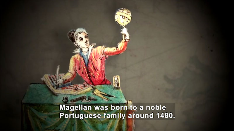 Still image from World Explorers: Ferdinand Magellan