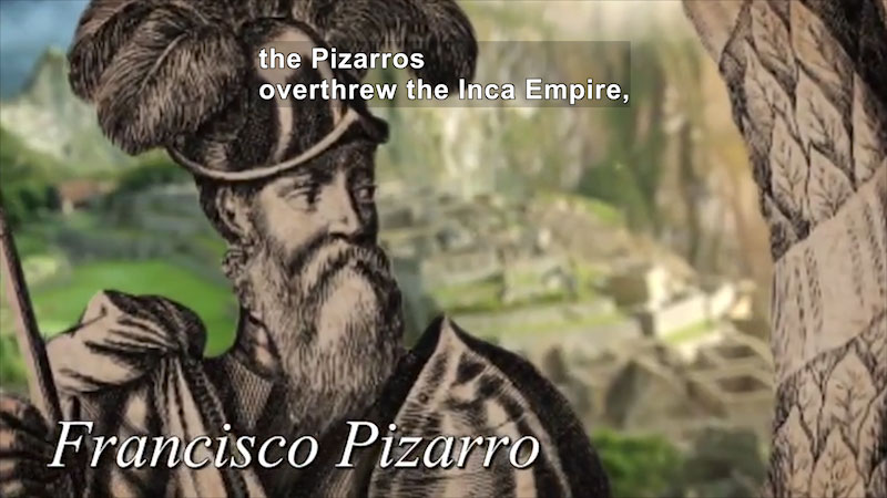 Still image from World Explorers: Francisco & Gonzalo Pizarro