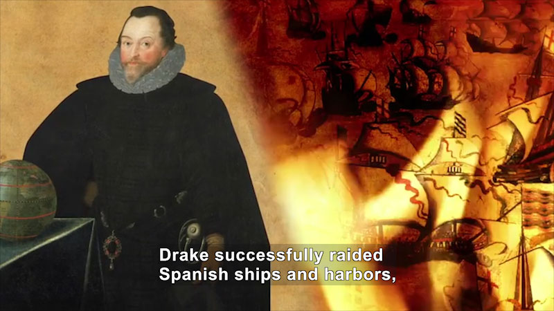 Still image from World Explorers: Francis Drake