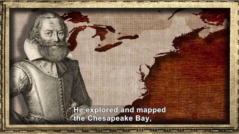 Still image from World Explorers: John Smith