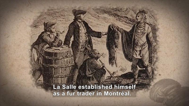 Still image from World Explorers: Robert de La Salle