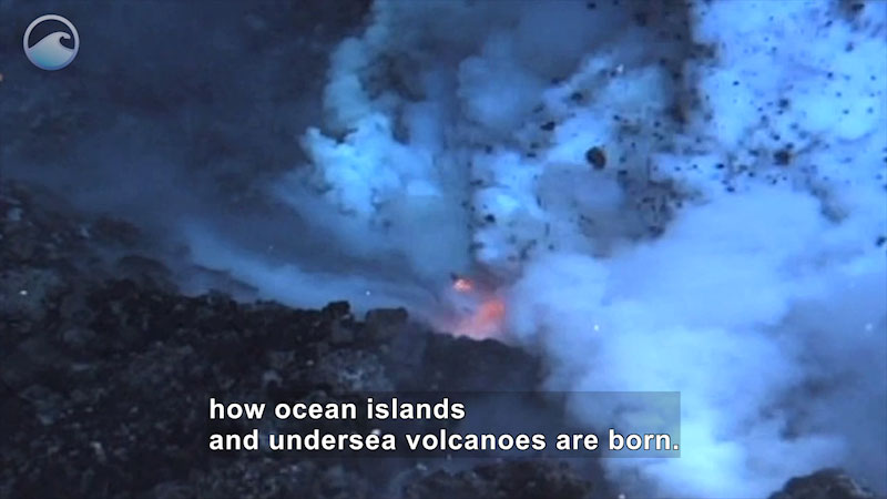 Still image from Deep-Ocean Volcanoes