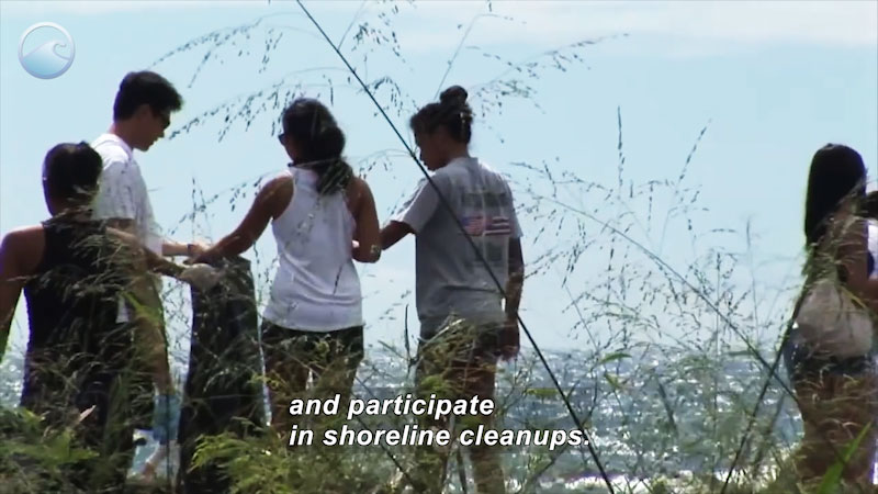 Still image from Trash Talk: What Can We Do About Marine Debris?