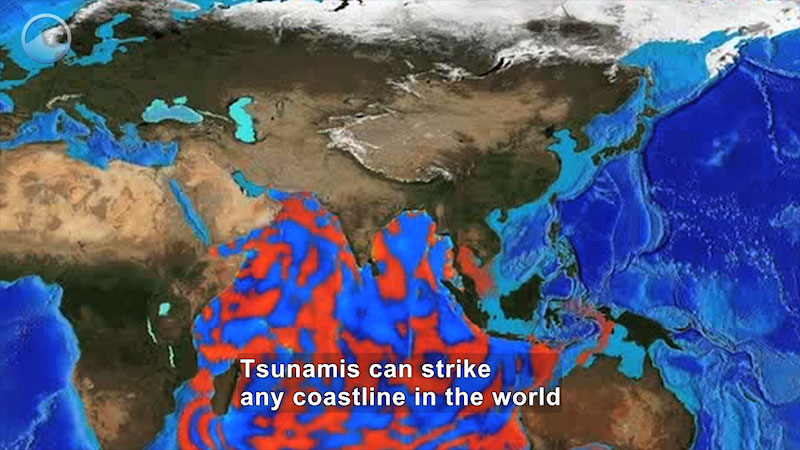 Still image from Danger Zone: Tsunami Awareness