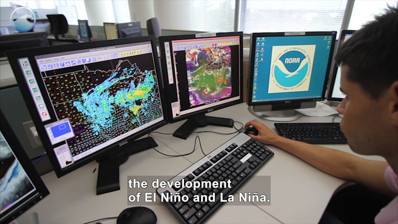Still image from Observing El Niño