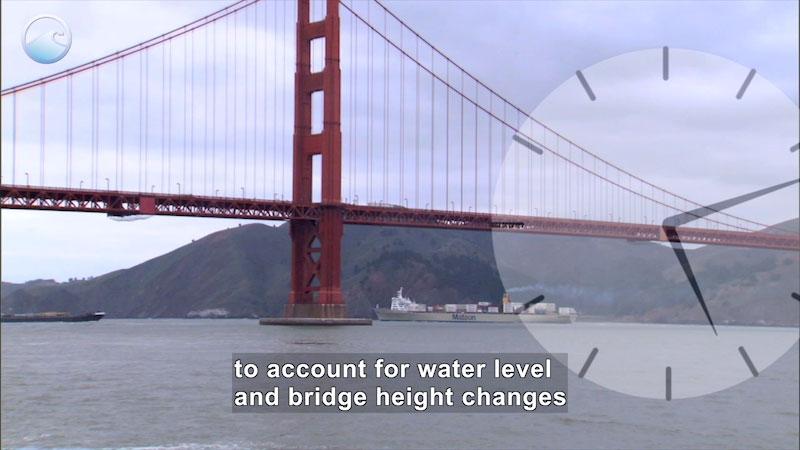 Still image from Ship Under a Bridge