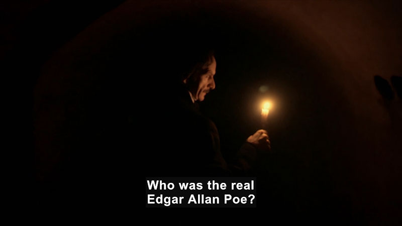 Still image from Edgar Allan Poe: Buried Alive (Biography and Falsehoods)