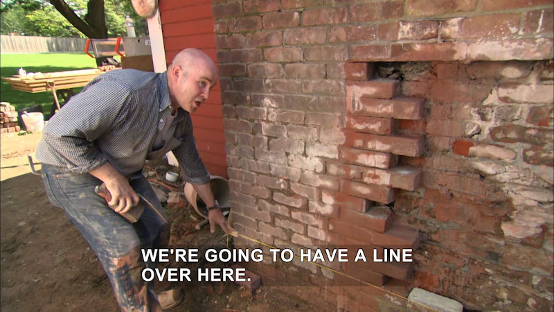 Still image from This Old House: Trade School--Not Just Another Brick in the Wall
