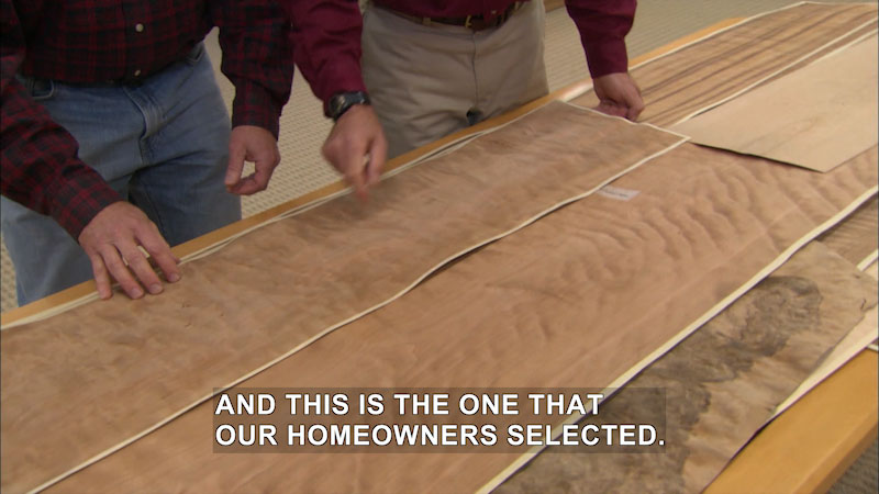 Still image from This Old House: Trade School--It's All About Cherry Wood