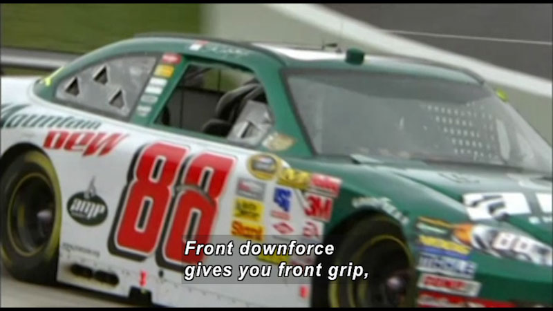 Still image from The Science of Speed: Grip