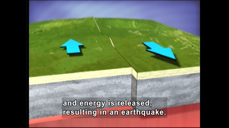 Still image from Volcanoes and Earthquakes