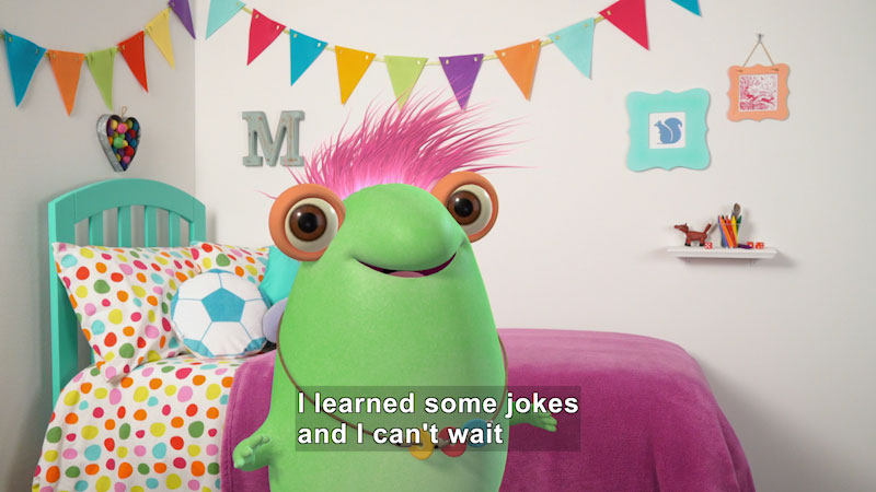 Still image from Marvie's Favorite Kid's Jokes (Part 2)