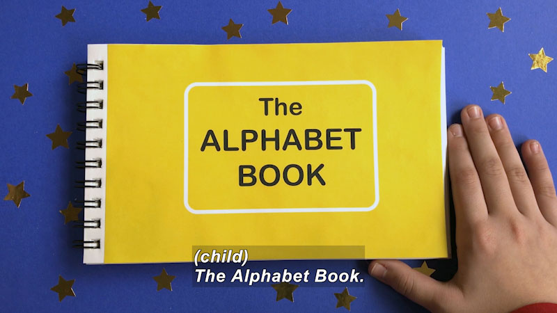 Still image from Marvie's Pick: Alphabet Flipbook