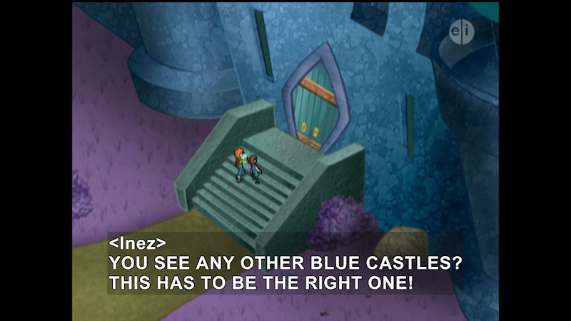 Still image from Cyberchase: Cool It