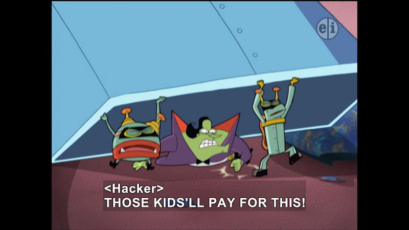 Still image from Cyberchase: Fortress of Attitude