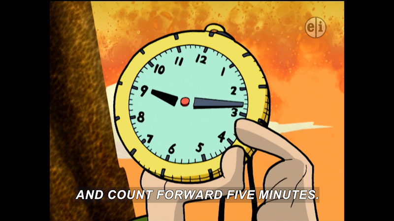 Still image from Cyberchase: A Time to Cook
