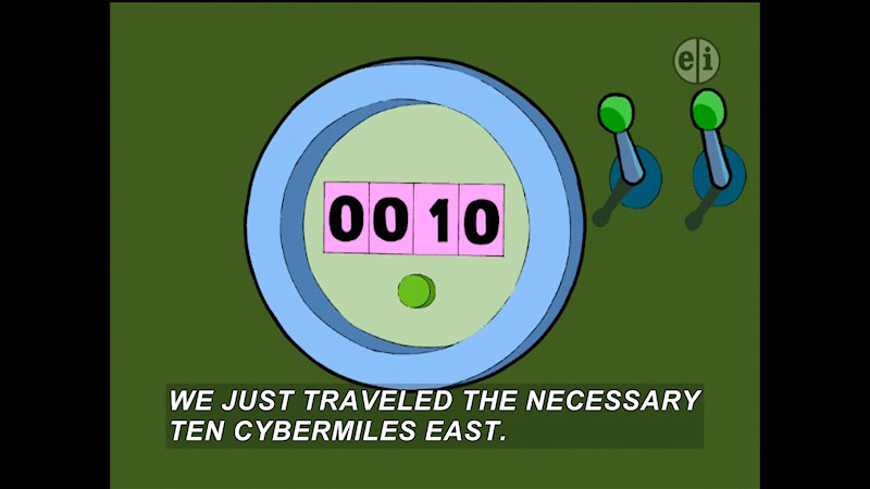 Still image from Cyberchase: The Creech Who Would Be Crowned