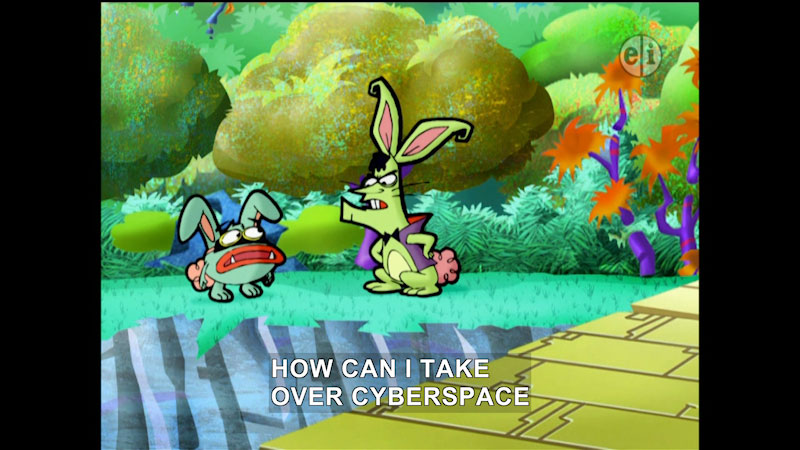 Still image from Cyberchase: The Fairy Borg Father