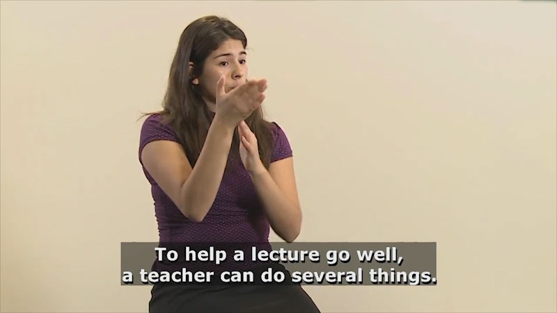 Still image from Teaching & Learning: Communication (Flow)
