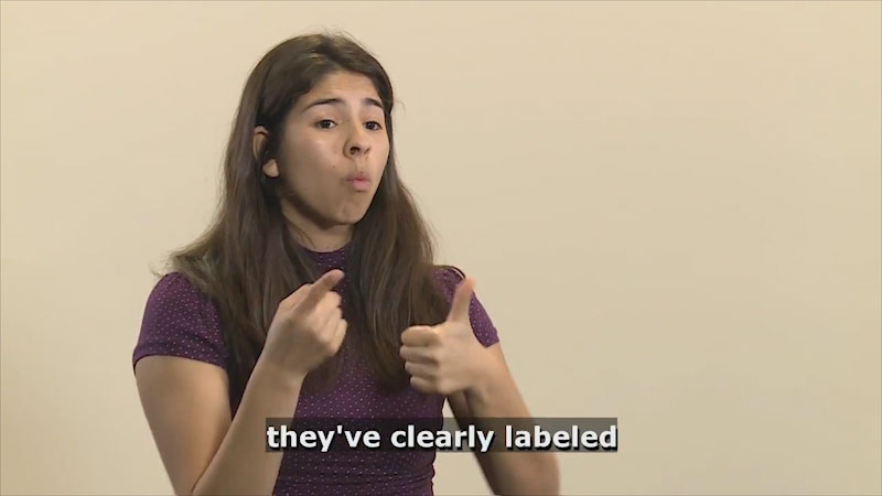 Still image from Teaching & Learning: Communication (Labeling)