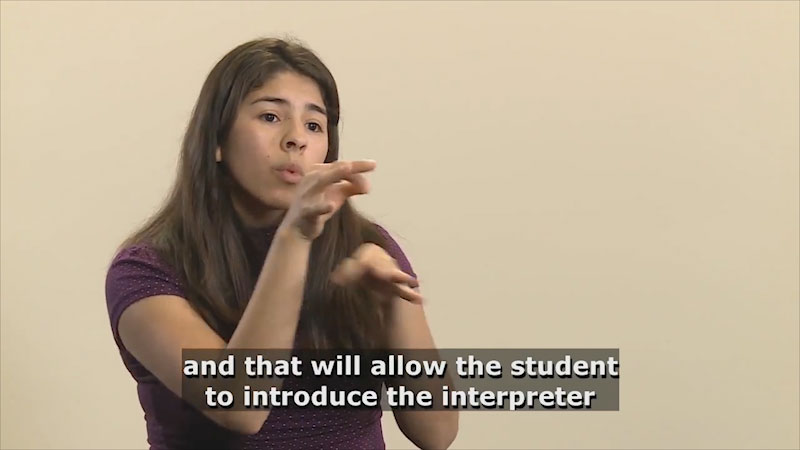 Still image from Teaching & Learning: Teaching (First Day--Segment 2)