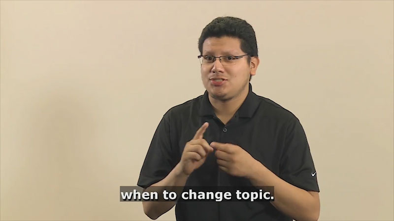 Still image from Teaching & Learning: Communication (Transitions)