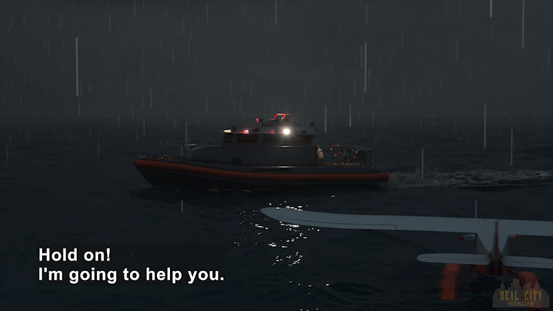Still image from Real City Heroes: Flip the Rescue Boat & Ava the Submarine
