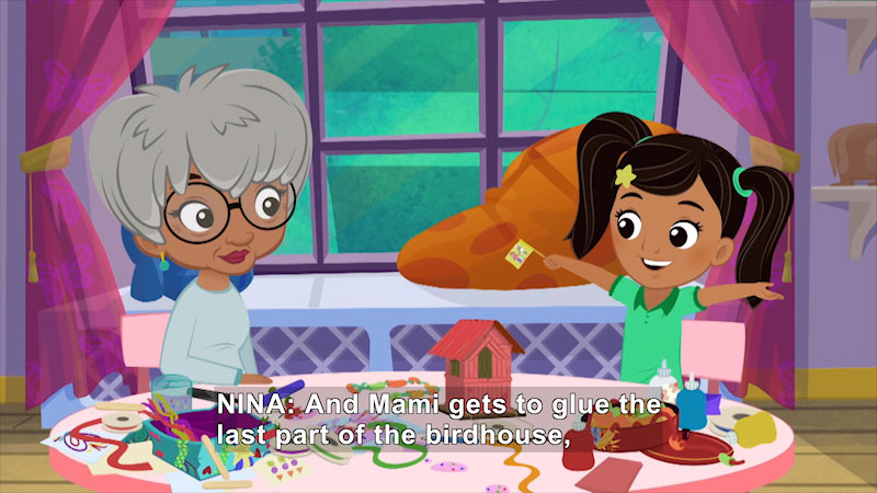 Still image from Nina's World: To Mami, Love Nina/Nina's Lemonade Stand