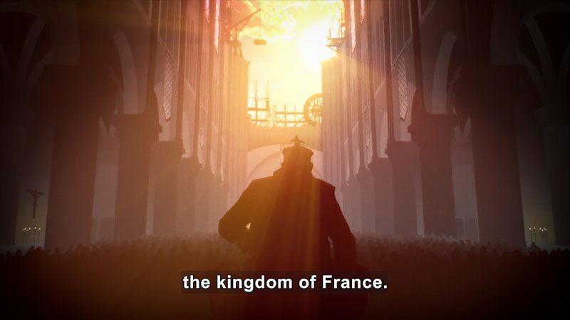 Still image from Butterfly Effect: Bouvines--The Birth of the Kingdom of France