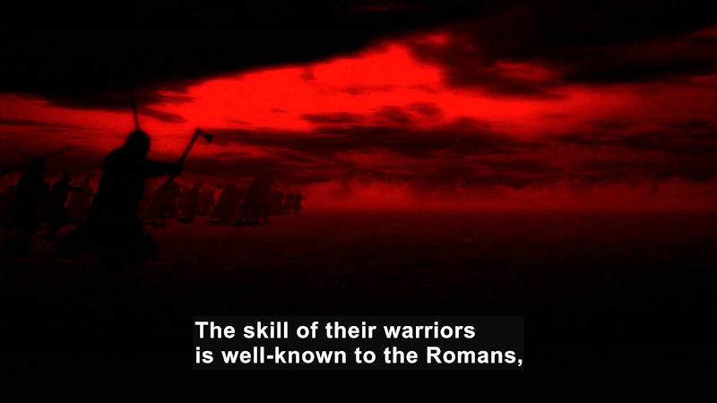 Still image from Butterfly Effect: Adrinople--Rome Against the Barbarians