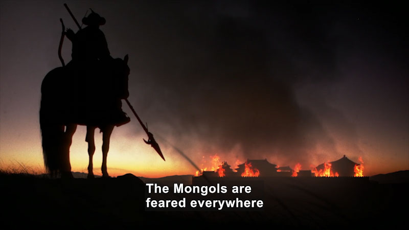 Still image from Butterfly Effect: Genghis Khan--The Empire of the Steppes