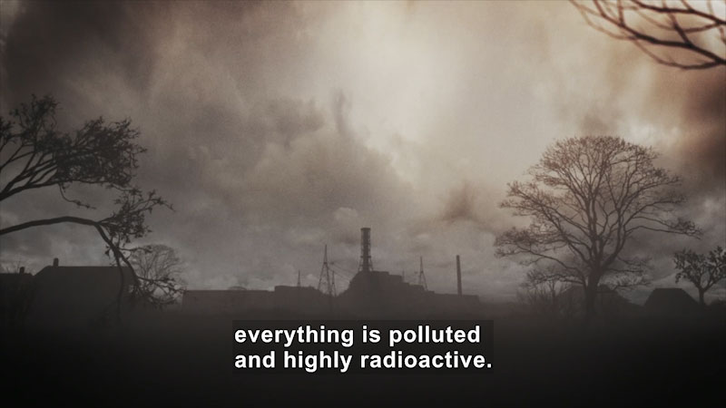 Still image from Butterfly Effect: Chernobyl--A Reactor Out of Control