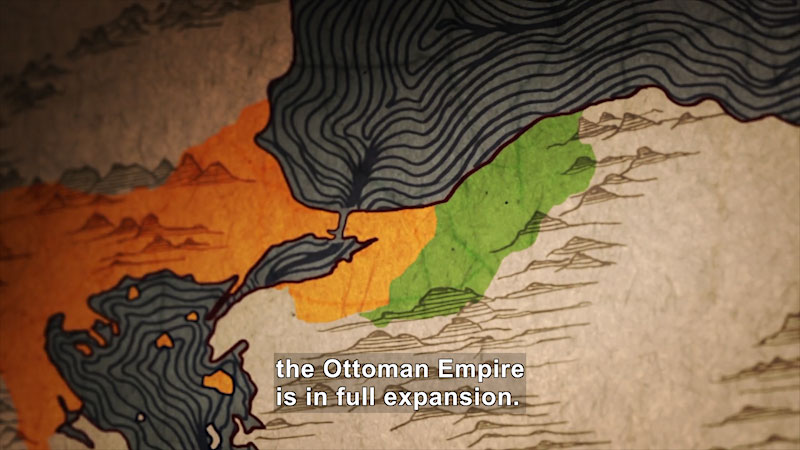Still image from Butterfly Effect: Constantinople From One Empire to the Other