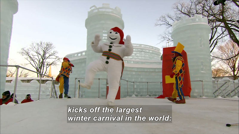 Still image from Cultures & Festivals of the World: Canada--Carnival of Quebec