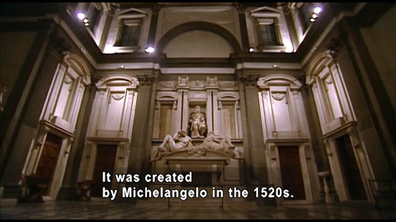 Still image from Around the World: Europe--Medici Chapel